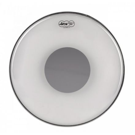 Ludwig Silver Dot Drum Head by Remo 12 Clear