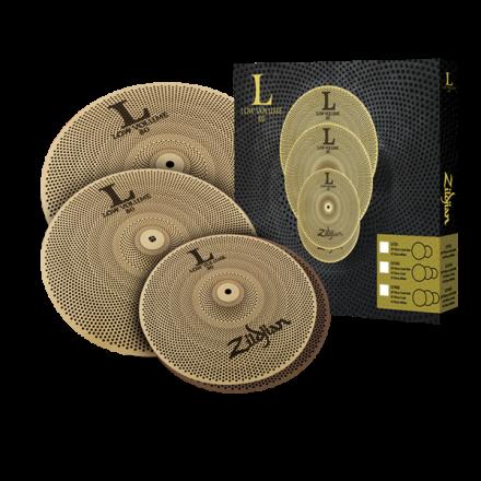 Zildjian L80 Low Volume Cymbal Box Set 14/16/18