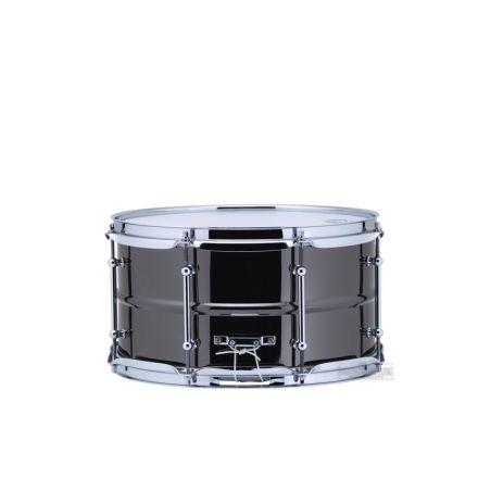 Ludwig Black Magic Snare Drum w/ Chrome Hardware 13x7