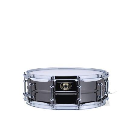 Ludwig Black Magic Snare Drum w/ Chrome Hardware 14x5.5