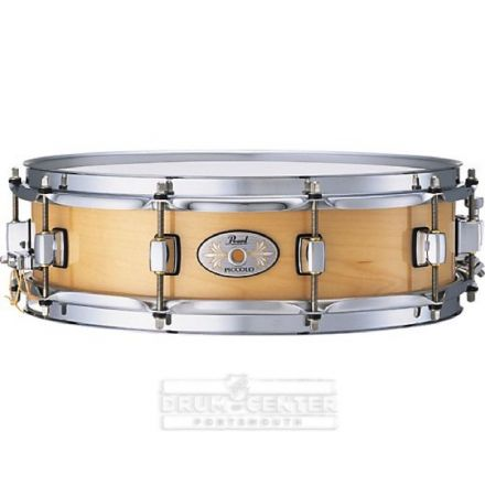 Pearl Snare Drums : 13x3 Piccolo Maple Snare Drum - Natural Maple