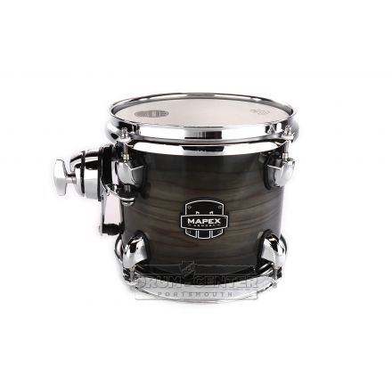 Mapex Armory 10X7 Tom Black Dawn with Chrome Plated Hardware