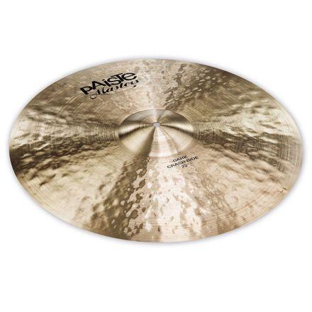 "Paiste Masters Dark Crash Ride Cymbal 22"""
