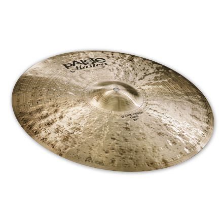 "Paiste Masters Dark Crisp Ride Cymbal 22"" 3186 grams"