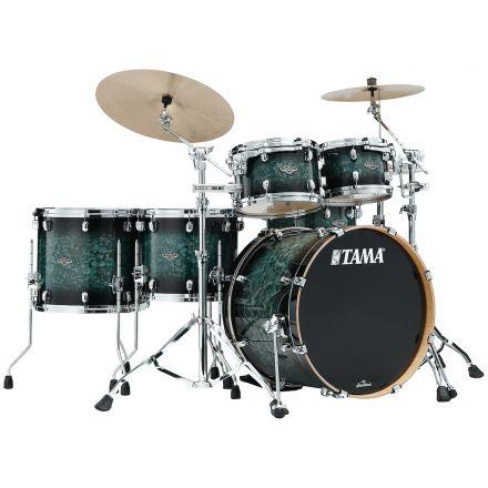Tama Starclassic Performer 5pc Drum Set With 22 Bass Drum - Molten Steel Blue Burst