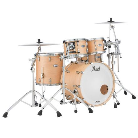 """Pearl Masters Maple Complete 24""""x14"""" Bass Drum - Matte Natural Maple"""