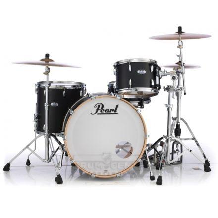 Pearl Masters Maple Complete 3pc Drum Set 24/13/16 Matte Black Mist