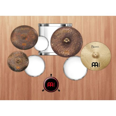 "Meinl Byzance Mike Johnston Cymbal Set w/ Free 18"" Crash"