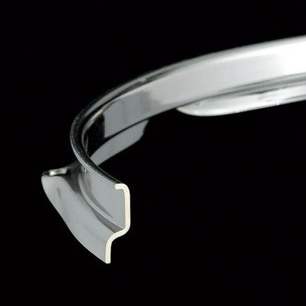 """Tama Drum Hoop : Brass Flanged 14"""" 10-Lug Nickel Plated"""