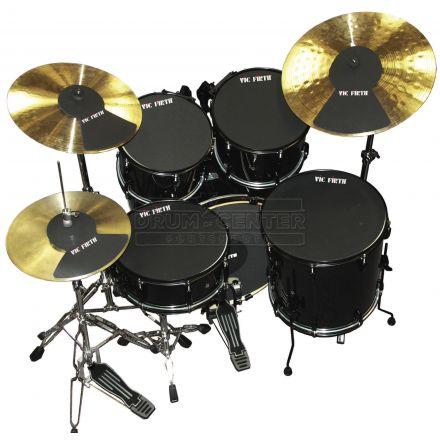 Vic Firth Drum Mute Prepack 5 - 10, 12, 14, 14, 20, HH, Cym (2)