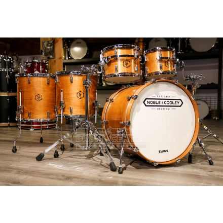 Noble And Cooley CD Maple 5pc Drum Set Honey Maple Oil