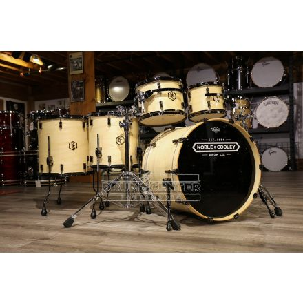 Noble And Cooley Union 5pc Drum Set Clear Gloss w/Black Hardware