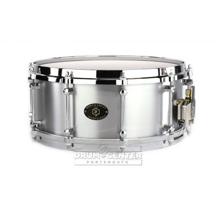 Noble And Cooley Alloy Classic Aluminum Finish Snare Drum 14x6