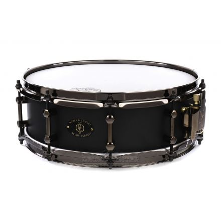Noble And Cooley Alloy Classic Snare Drum 14x4.75 Black/Black