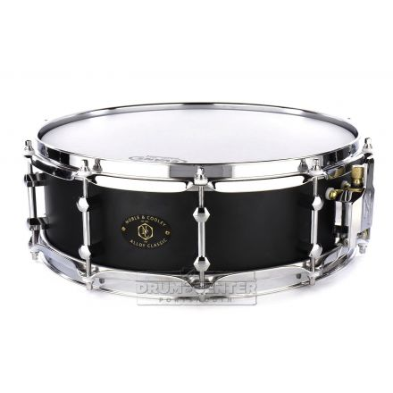 Noble And Cooley Alloy Classic Snare Drum 14x4.75 Black/Chrome