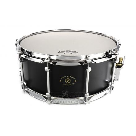 Noble And Cooley Alloy Classic Snare Drum 14x6 Black/Chrome
