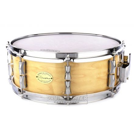 Noble And Cooley CD Maple Snare Drum 14x5.5 Gloss Natural