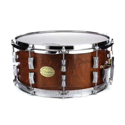 Noble And Cooley CD Maple Snare Drum 14x6.5 Honey Maple Oil