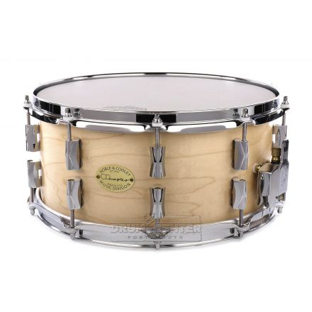 Noble And Cooley CD Maple Snare Drum 14x6.5 Natural Oil