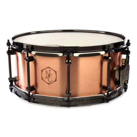 Noble And Cooley Copper Snare Drum 14x6 w/Black Hardware