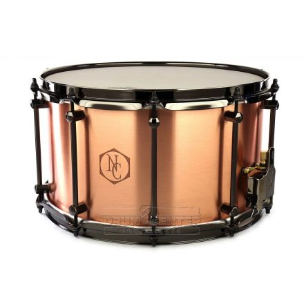 Noble And Cooley Copper Snare Drum 14x8 w/Black Hardware