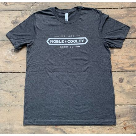 Noble & Cooley Logo T-Shirt - Gray - XX-Large