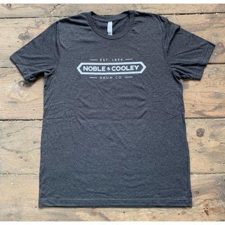 Noble & Cooley Logo T-Shirt - Gray - Medium