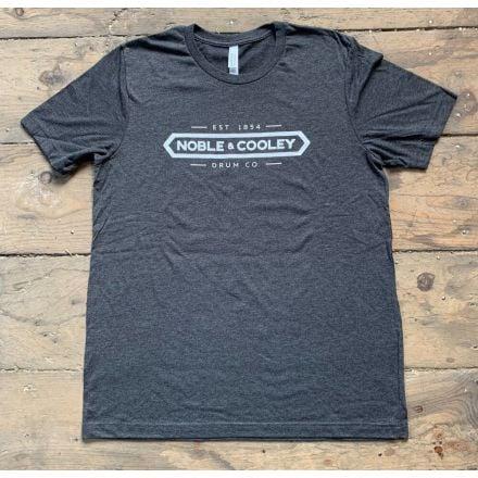 Noble & Cooley Logo T-Shirt - Gray - Large