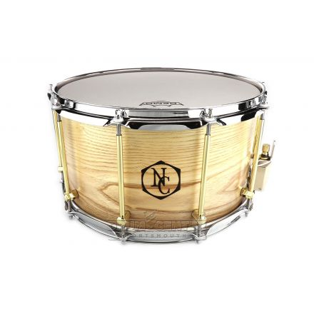 Noble And Cooley Solid Ply Ash Snare Drum 14x8
