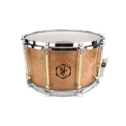 Noble And Cooley Solid Ply Cherry Snare Drum 14x8