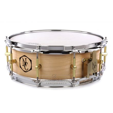 Noble And Cooley Solid Ply Maple Snare Drum 14x5
