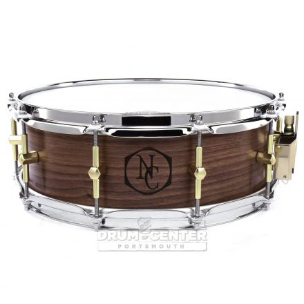 Noble And Cooley Solid Ply Walnut Snare Drum 14x5