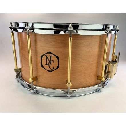 Noble And Cooley Solid Ply Beech Snare Drum 14x8
