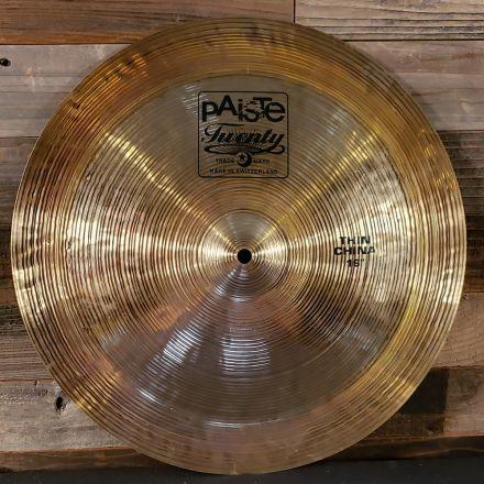 Used Paiste Twenty Series Thin China Cymbal 16