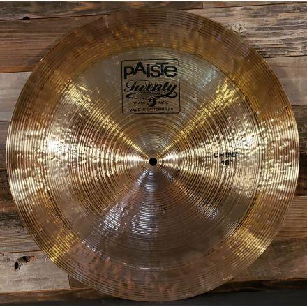 Used Paiste Twenty Series China Cymbal 18