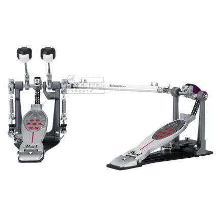 Pearl Eliminator Redline Left-Handed Double Pedal - Chain Drive