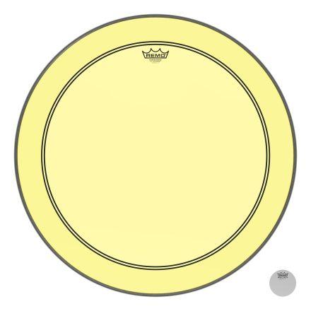 Remo Powerstroke P3 Colortone Yellow 26 Inch Bass Drum Head