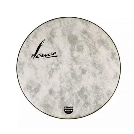 Sonor Bass Drum Logo Head 22 Natural - Vintage Logo