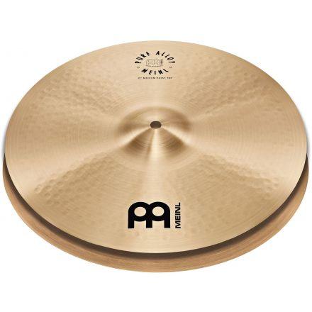 """Meinl Pure Alloy Traditional Medium Hi Hat Cymbals 14"""""""