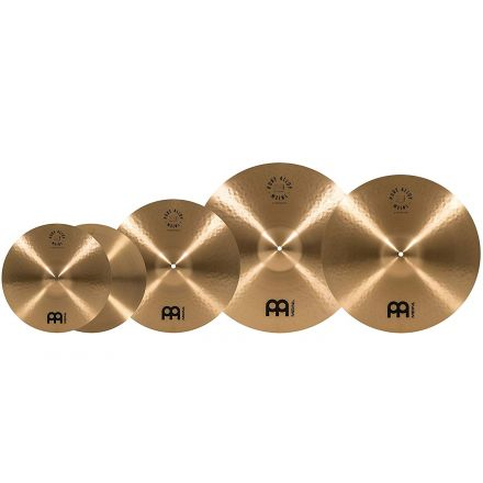 Meinl Pure Alloy Cymbal Set Pack 14H/16C/20R+Free 18 Crash, Ching Ring and Cymbal Bacon