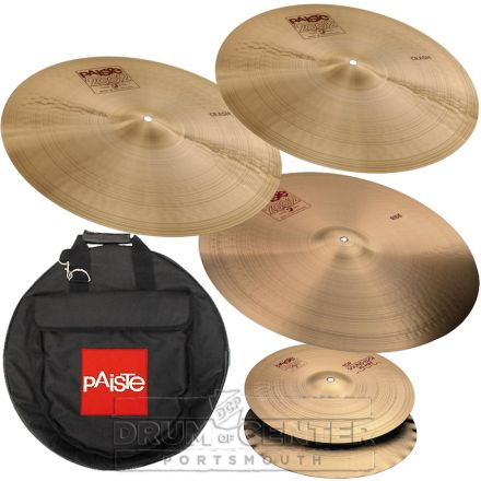 "Paiste 2002 ""Abe"" Cymbal Set w/ Bag"