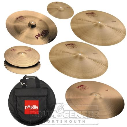 """Paiste 2002 """"Ian Paice"""" Cymbal Set w/ Bag"""