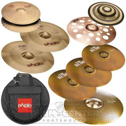 "Paiste ""Dave Lombardo"" Cymbal Set w/ Bag"