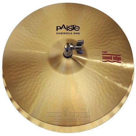 "Paiste Formula 602 Sound Edge Hi Hat Cymbals 15"""