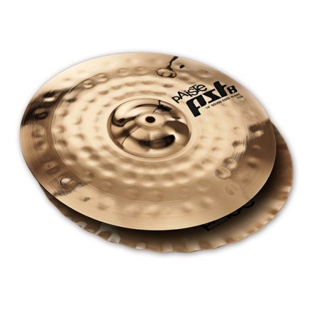 "Paiste PST 8 Reflector Sound Edge Hi Hat Cymbals 14"""