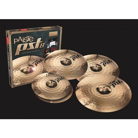 Paiste PST 8 Reflector Universal Cymbal Set 14/16/20 + Free 16