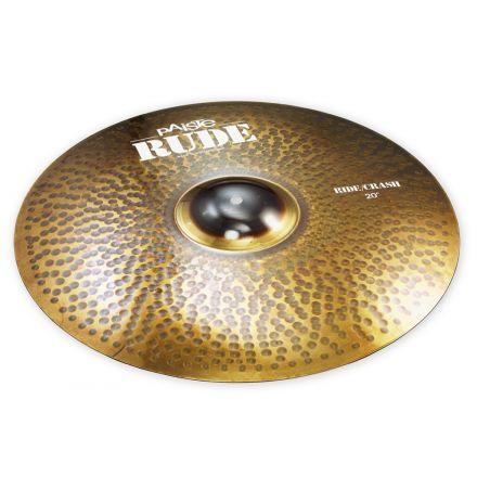 "Paiste Rude Ride Crash Cymbal 20"""
