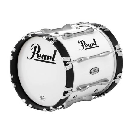 Pearl 14X14 Championship Maple Marching Bass Drum #33 - Pure White