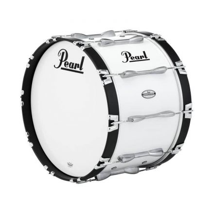 Pearl 22X14 Championship Maple Marching Bass Drum #33 - Pure White