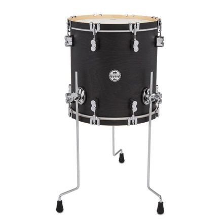 PDP Concept Maple Classic Wood Hoop Drums : 14x14 Floor Tom Ebony Stain